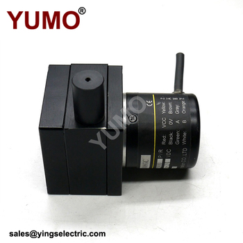 YUMO dc motor low cost absolute optical Incremental rotary encoder linear wire encoder