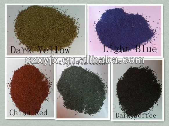 Natural color sand/Dye color sand