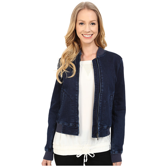 beautiful girls in tight clothes baseball bomber jacketwith zipper denim jacket