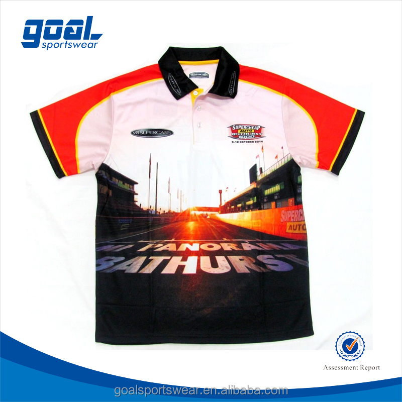 High quality custom sublimation racing uniforms