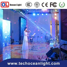 China well sale rgb p5 interactive led dance floor for concert stage and party for sale