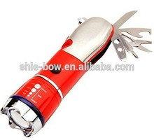 5-in-1 LED Flashlight, Window Breaker, Emergency Tool Vehicle Survival