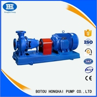 High efficiency electric centrifugal water pump