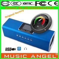 china manufacturer Original Music Angel JH-MAUK5B vibrating dancing speakers portable mp3 music no limit mp4 digital player