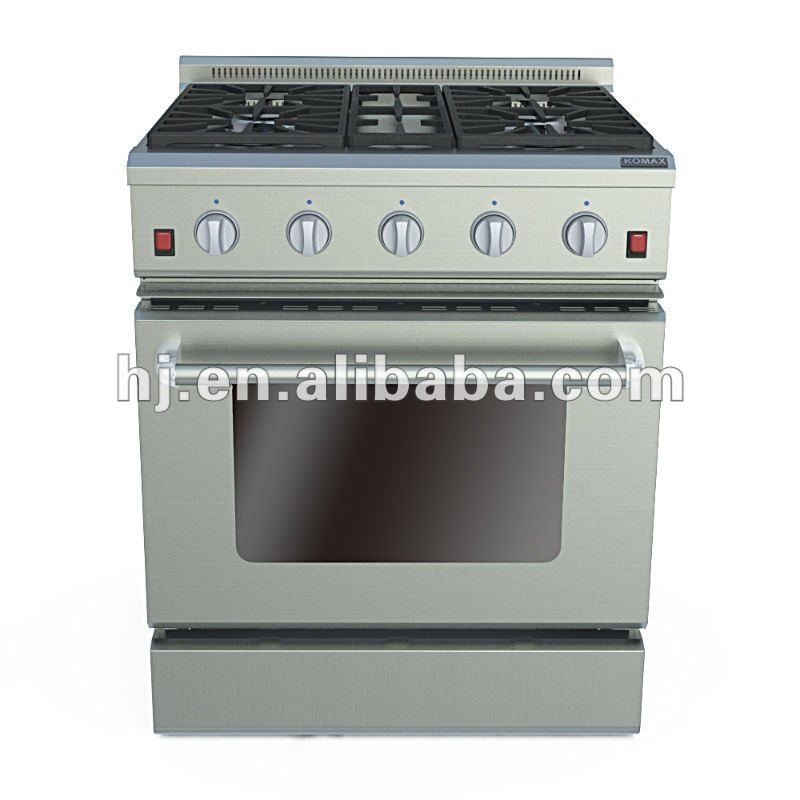 "30"" Stainless Steel Gas Oven"