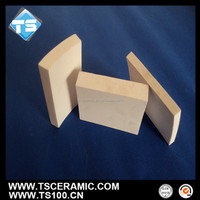 96% alumina ceramic substrate/tile/brick for cone-shaped copper lining