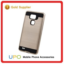 [UPO] Dual Layer Hybrid Combo Brushed Hard Plastic TPU Mobile Cases for Huawei Ascend Mate 7