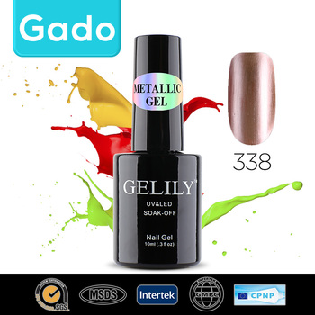 Hot sale Gado GELILY 10ml Metallic Gel 30 colors nail polish gel 301