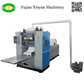 Factory price facial tissue folding machine
