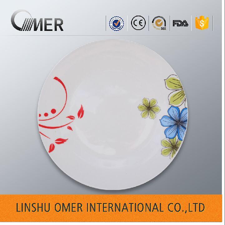 Standard dinner plate size