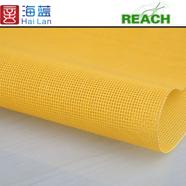china vinylf abric material for laundry bag non slip fabric