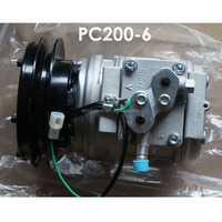 PC200-6 10PA15C 447200-888 20Y-979-3111 AC Compressor For Engineering Truck Excavator