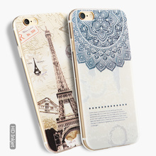 Awesome Super-Slim Thin New Design dirt proof Smart Kid proof Universal color printed cover For Iphone 6/6s 5.5 inch