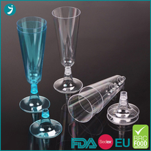 Factory direct supplycheap plastic champagne glasses with competitive price