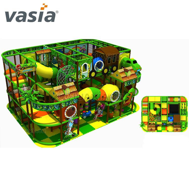 Huaxia soft play candy theme playground indoor amusement park for children