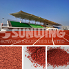 SUNWING recycled tyre rubber roll granules for playground