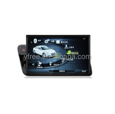 Touch screen for Audi Q5 Android car dvd players with GPS navigator auto double din radio navigation 2 audio video system