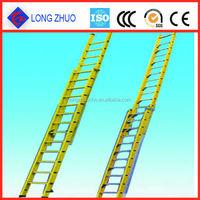 Fiberglass Double Extension Ladder & Platform Ladder Made in China
