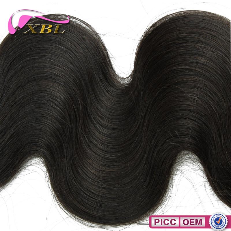 XBL new arrival hot sale body wave real mink Brazilian hair