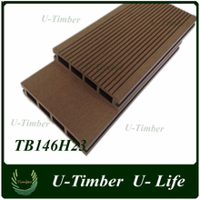 Hot sale water-proof and anti-rot wpc composite wood decking