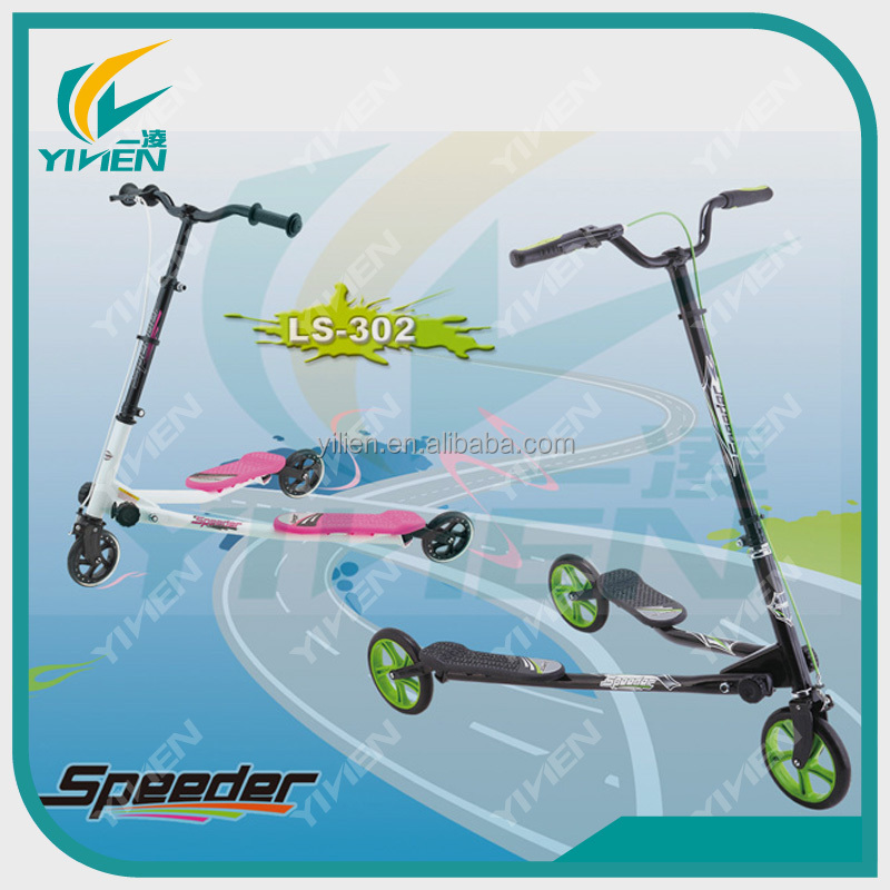 3 wheel swing scooter for kids YILIEN Speeder Scooter for sale