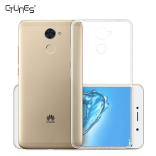For Huawei Y7 Prime Case,Clear Ultra Thin Transparent Soft Gel TPU Silicone Case Cover For Huawei Y7 Prime / Enjoy 7 Plus