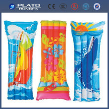 Multicolour Flower Inflatable Lilo Swimming Pool Beach Mat