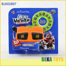 Education toy happy kid toy wholesale 3D sport image toy camera