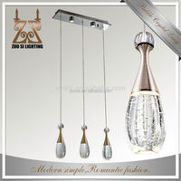 Best selling practical metal crystal pendant light