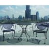 Outdoor Furniture Metal Mesh Table And
