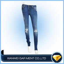 Nice design skinny jeans for girls