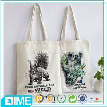 Promotion Canvas Weekend Shopping Bag