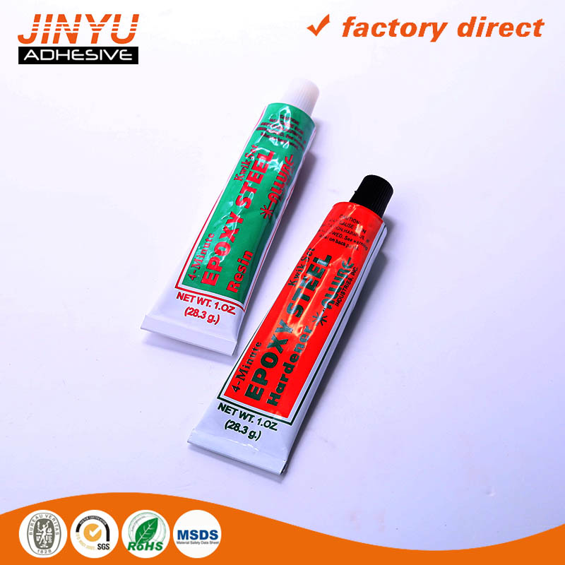 Quick dry Transparent Epoxy Adhesive two component steel glue