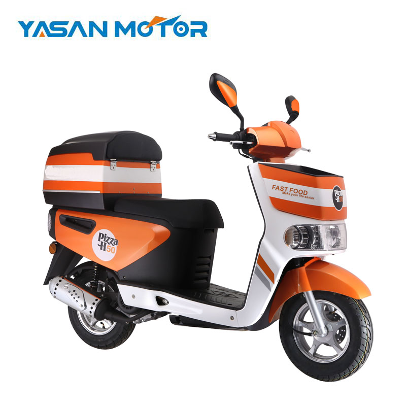 China High Quality 4 Stoke 50CC Fast Delivery Gas Scooter For Pizza