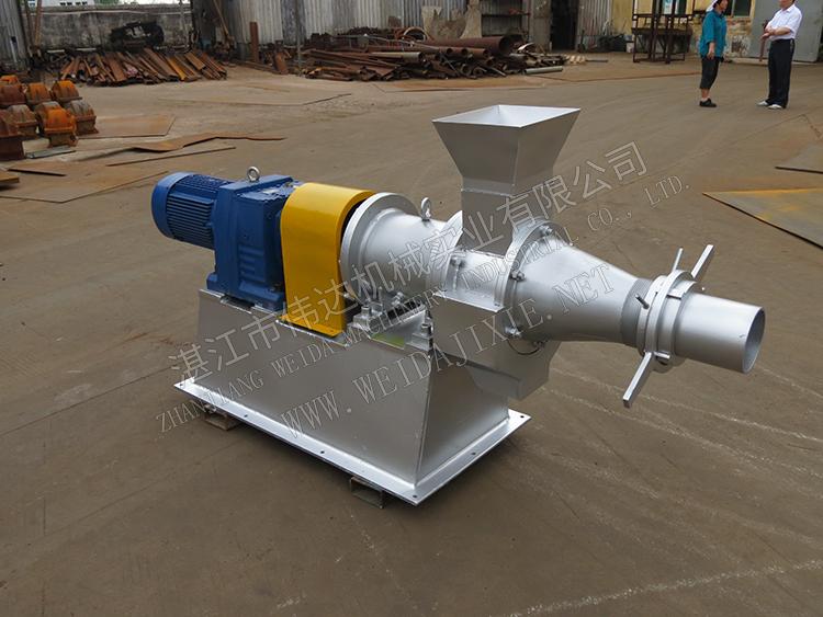 Bamboo Crusher Grinding Machine/ Cone Screw Crushing Machine
