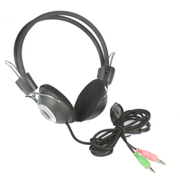Factory wholesale computer accessories 2 pins headphone
