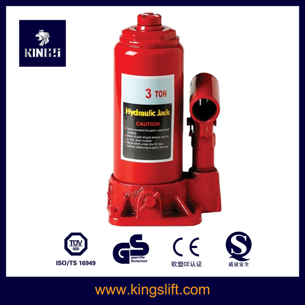 3 ton Bottle Hydraulic Jack for Cars