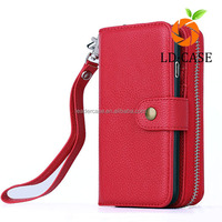mobile/cell phone case for iphone 6/6s cell phone PU wallet clutch for iphoen 6plus/6splus custom leather case