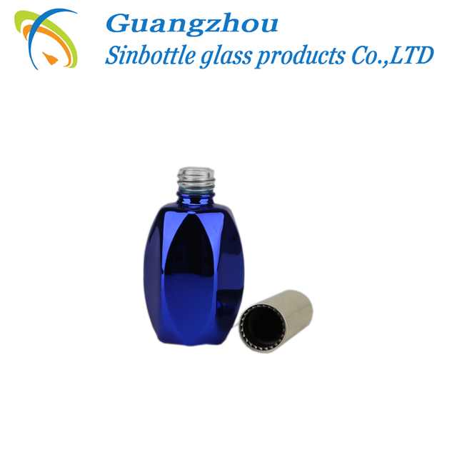 Wholesale Hexagon Nail Polish Glass Bottle With brush cap