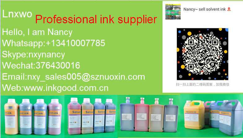 Fast-dry! No Smell DX5/DX7 eco solvent ink for Phaeton