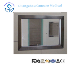 custom x ray lead shielded glass