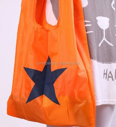 ployster bag/ multiple shoes carry bag/ polyester material recycled folding tote bag