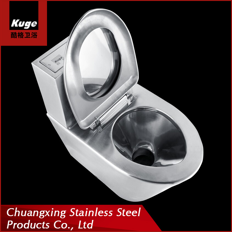 Chuangxing stainless steel twyford ghana bus toilet