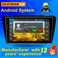 Android 4.4 1024X600 Glonass/GPS 1080P dual core car dvd player for Skoda 2015 GPS avin