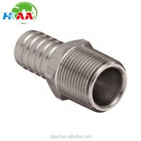 Customized 316 Stainless Steel Hose Barb fitting