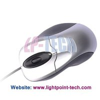 Retractable Wired USB Optical Mouse(silver),800DPI