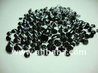 Natural loose black diamond