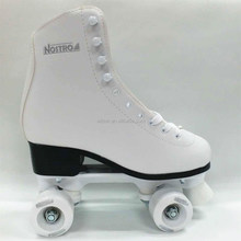 White double roller skate shoes for winter use