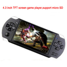 Portable 4.3 inch 8g smart MP4 MP5 PMP game player with camera