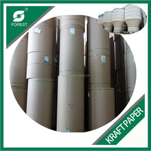 HIGH QUALITY PACKAGING BOX RAW MATERIAL KRAFT PAPER JUMBO ROLL